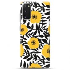 "Samsung Galaxy S20 TPU dėklas unikaliu dizainu 1.0 mm ""u-case Airskin Flowers 2 design"""