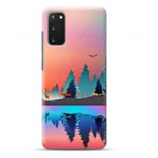 """Samsung Galaxy S20 TPU dėklas unikaliu dizainu 1.0 mm """"u-case Airskin Nature 5 design"""""""