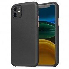 Iphone 11 dėklas Araree Pellis juodas