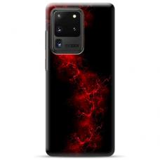 """Samsung Galaxy S20 ultra TPU DĖKLAS UNIKALIU DIZAINU 1.0 MM 1.0 mm """"u-case airskin Space 3 design"""""""