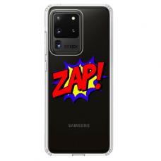 """Samsung Galaxy S20 ultra TPU DĖKLAS UNIKALIU DIZAINU 1.0 MM 1.0 mm """"u-case airskin ZAP design"""""""