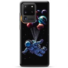"""Samsung Galaxy S20 ultra TPU DĖKLAS UNIKALIU DIZAINU 1.0 MM 1.0 mm """"u-case airskin Cosmo design"""""""