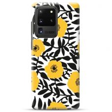 "Samsung Galaxy S20 ultra TPU dėklas unikaliu dizainu 1.0 mm ""u-case airskin Flowers 2 design"""