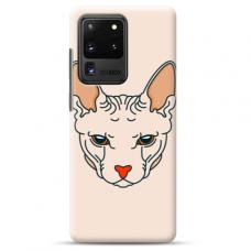 "Samsung Galaxy S20 ultra TPU dėklas unikaliu dizainu 1.0 mm ""u-case Airskin Kato design"""