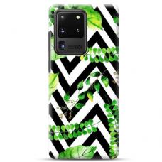 """Samsung Galaxy S20 ultra TPU dėklas unikaliu dizainu 1.0 mm """"u-case Airskin Leaves 2 design"""""""