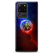 """Samsung Galaxy S20 ultra TPU dėklas unikaliu dizainu 1.0 mm """"u-case Airskin Nature 4 design"""""""