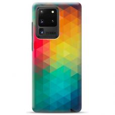 """Samsung Galaxy S20 ultra TPU dėklas unikaliu dizainu 1.0 mm """"u-case airskin Pattern 4 design"""""""