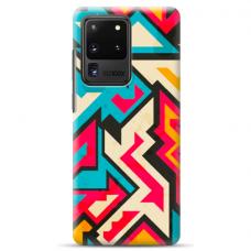 """Samsung Galaxy S20 ultra TPU dėklas unikaliu dizainu 1.0 mm """"u-case airskin Pattern 7 design"""""""