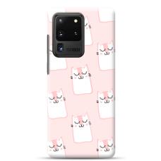 "Samsung Galaxy S20 ultra TPU dėklas unikaliu dizainu 1.0 mm ""u-case Airskin Pink Kato design"""