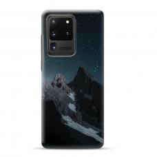 "Samsung Galaxy S20 ultra TPU dėklas unikaliu dizainu 1.0 mm ""u-case airskin Mountains 1 design"""