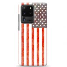 """Samsung Galaxy S20 ultra TPU dėklas unikaliu dizainu 1.0 mm """"u-case Airskin USA design"""""""