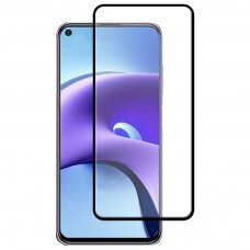 xiaomi redmi note 9t apsauginis stikliukas 5D Full Glue juodais kraštais