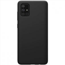 Samsung Galaxy A03s dėklas Silicon juodas