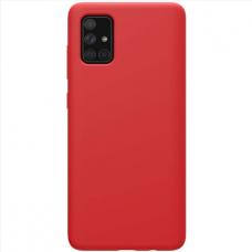 Samsung Galaxy A03s dėklas Silicon raudonas