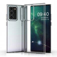 Samsung galaxy note 20 dėklas 3MK Clear TPU 1,2mm permatomas