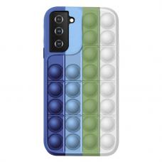 Samsung Galaxy S21 silikoninis dėklas POP IT Design 2