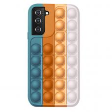 Samsung Galaxy S21 silikoninis dėklas POP IT Design 4
