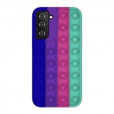 Samsung Galaxy S21 silikoninis dėklas POP IT Design 5