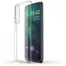Huawei P Smart 2021 DĖKLAS HIGH CLEAR 1MM SILIKONAS SKAIDRUS
