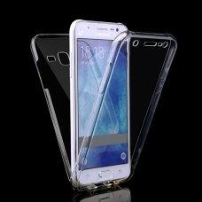 Akcija ! Samsung galaxy S6 dėklas dvipusis Silikoninis 360 TPU 0,3mm skaidrus