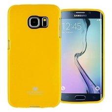 Akcija! Samsung galaxy S6 dėklas MERCURY Silikoninis Oranžinis/geltonas
