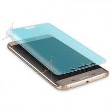 Akcija! Samsung galaxy S6 EDGE Apsauginė plėvelė WOZINSKY Silikoninė pilnai uždengia ekraną