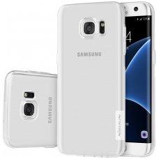 Samsung galaxy S6 Edge dėklas Nillkin Nature TPU 0,6mm skaidrus