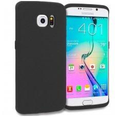 Samsung galaxy S6 Edge dėklas Silikoninis CANDY 0,3mm juodas