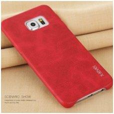 Samsung galaxy S6 EDGE dėklas X-LEVEL VINTAGE  Raudonas