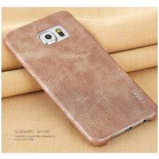 Samsung galaxy S6 EDGE dėklas X-LEVEL VINTAGE  auksinės/smėlio spalvos