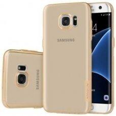 Samsung galaxy S6 EDGE PLUS dėklas Nillkin Nature TPU 0,6mm rudas
