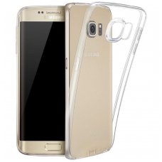 Samsung galaxy S6 EDGE PLUS dėklas Silikoniniai Ultra Slim 0,3mm SKAIDRUS