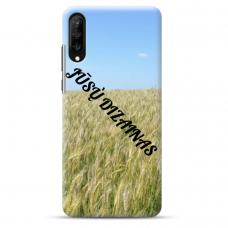 Samsung Galaxy A7 2018 TPU dėklas nugarėlė su jūsų dizainu. Dėklas gaminamas su jūsų pateikta nuotrauka