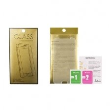 Sony xperia z3 compact ekrano apsauginis stikliukas Tempered Glass GOLD