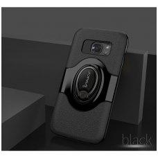 Samsung galaxy s7 dėklas Ipaky feather TPU + PC PLASTIKAS juodas