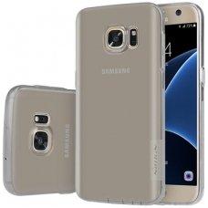 Samsung galaxy s7 dėklas nillkin Nature TPU pilkas 0,6 mm