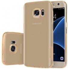 Samsung galaxy s7 dėklas nillkin Nature TPU rudas 0,6 mm