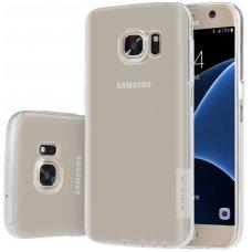 Samsung galaxy s7 dėklas nillkin Nature TPU skaidrus 0,6 mm
