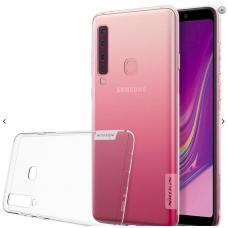 Samsung galaxy A9 2018 dėklas nillkin Nature TPU skaidrus 0,6 mm