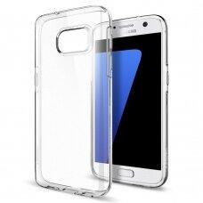 Akcija! Samsung galaxy s7 dėklas Select TPU plastikas skaidrus