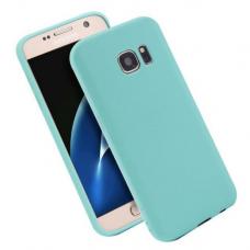 Akcija! Samsung galaxy S7 dėklas Silikoninis CANDY 0,3mm mint