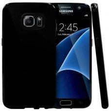 Samsung galaxy s7 dėklas Silikoninis MERC 0,3mm juodas