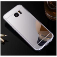 """Samsung Galaxy s7 Edge dėklas """"Mirror Case"""" TPU+PC sidabrinis"""