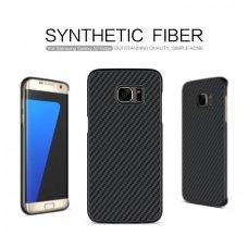 Samsung galaxy s7 edge dėklas su anglies pluoštu nillkin Synthetic Fiber juodas