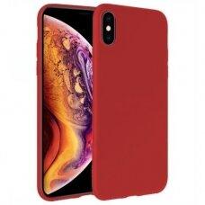 Samsung galaxy A10 dėklas X-LEVEL GUARDIAN silikoninis raudonas