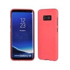 Samsung galaxy S8 plus dėklas  MERCURY JELLY SOFT silikoninis rožinis