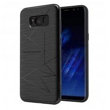 Samsung galaxy S8 dėklas nillkin Magic magnetinis juodas pritaikytas belaidžiam krovimui