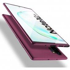 Akcija! Samsung galaxy note 10 plus dėklas X-LEVEL GUARDIAN silikonas bordinis
