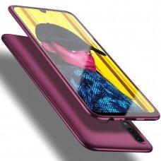 Akcija! Huawei p smart 2019 dėklas X-LEVEL GUARDIAN silikonas bordo