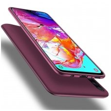 Samsung galaxy a70 dėklas X-LEVEL GUARDIAN silikonas bordinis